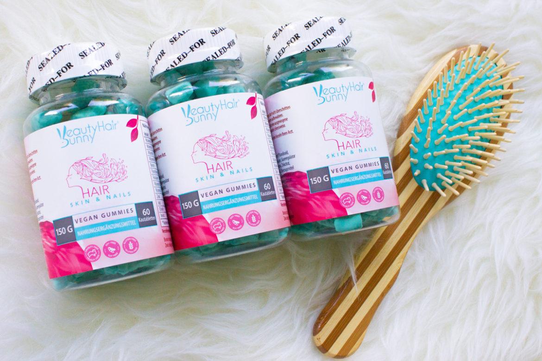 BeautyHairBunny - Vegane Gummies für Haare, Haut & Nägel